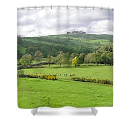 The Dovedale Dash By Thorpe Mill Farm Shower Curtain by Rod Johnson