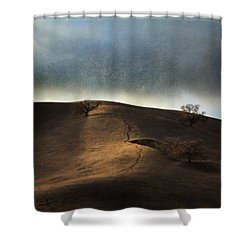 The Earth Moved When You Loved Me Shower Curtain by Laurie Search