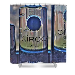The Finest Of Vodka Ciroc Shower Curtain