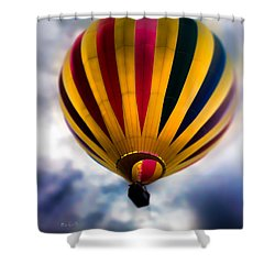 The Floating Dream Shower Curtain by Bob Orsillo