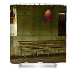 The Forgotten Party  Shower Curtain by Jerry Cordeiro