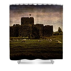 The Fortress Of Minas Morgul Shower Curtain by Chris Lord