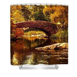 The Gapstow Bridge Shower Curtain