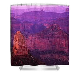The Grand Canyon North Rim Shower Curtain by Bob Christopher