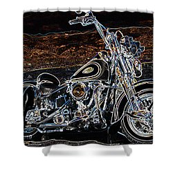 The Great American Getaway Shower Curtain