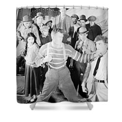 The Happy Warrior, 1925 Shower Curtain by Granger