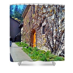 The Hess Collection - Napa Ca Shower Curtain