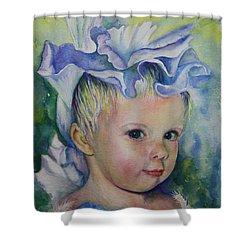 The Iris Princess Shower Curtain