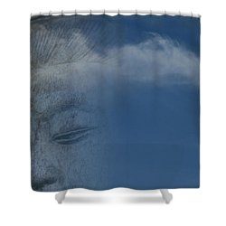 The Journey Shower Curtain by Sharon Mau