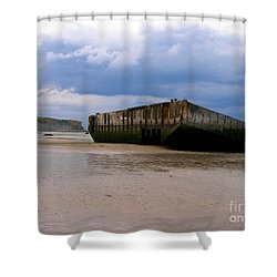 The Last Grave Shower Curtain