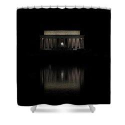 The Lincoln Memorial Shower Curtain by Kim Hojnacki