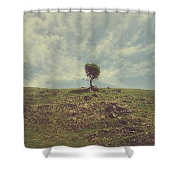 The Little Bit Of My Heart That's Left Shower Curtain by Laurie Search