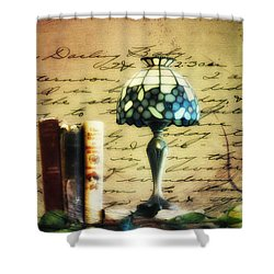 The Love Letter Shower Curtain by Bill Cannon
