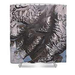 The Mcmurdo Dry Valleys West Of Mcmurdo Shower Curtain by Stocktrek Images