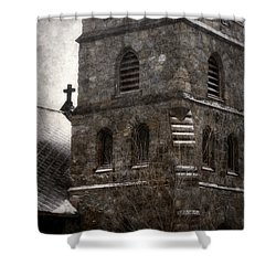 The Messenger Shower Curtain by Angie Rea