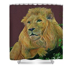 The Mighty King Shower Curtain