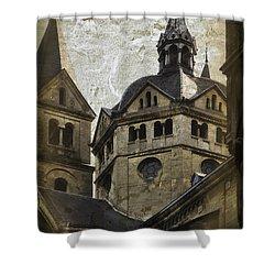 The Munsterkerk Roermond Shower Curtain by Mary Machare