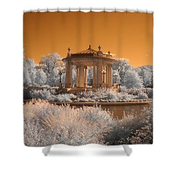The Muny At Forest Park Shower Curtain by Jane Linders
