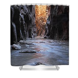 The Narrows Shower Curtain