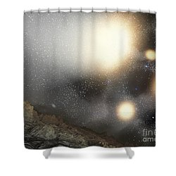 The Night Sky As Seen Shower Curtain by Stocktrek Images