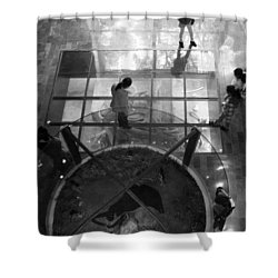 The Oculus Shower Curtain by Lynn Palmer