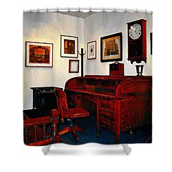 The Office Shower Curtain by Bill Cannon
