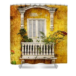 Shower Curtain featuring the photograph The Old City by Blair Wainman