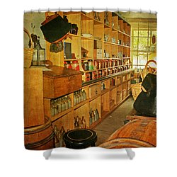 The Old Country Store Shower Curtain by Kim Hojnacki