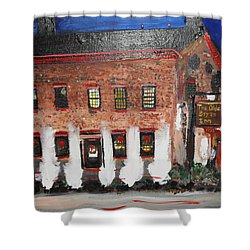 The Olde Bryan Inn Shower Curtain