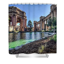 The Palace Of Fine Arts Shower Curtain by Everet Regal