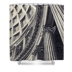 The Pantheon Shower Curtain by Norman Bean