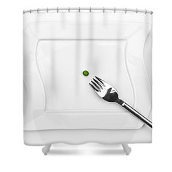 The Pea Shower Curtain by Joana Kruse