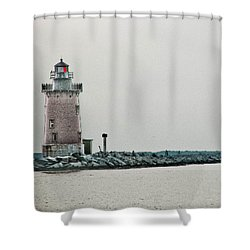 The Phils Are Still My Team Shower Curtain by Trish Tritz