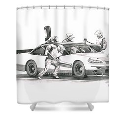 The Pitts  Shower Curtain by Murphy Elliott