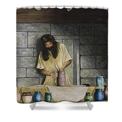 The Potter's House Shower Curtain