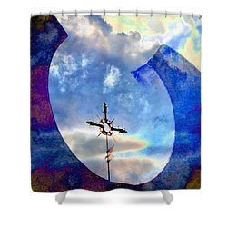 The Promise Shower Curtain by Lenore Senior