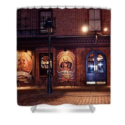 The Pub Shower Curtain by Terry Wallace