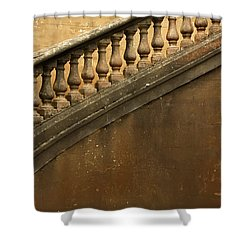 The Queen's Staircase Shower Curtain