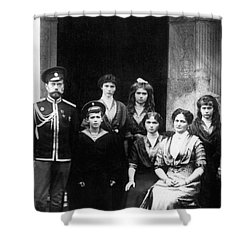 The Romanovs Shower Curtain by Science Source