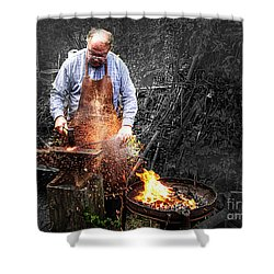 The Smith Shower Curtain by William Fields