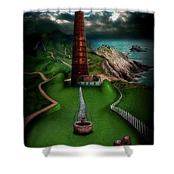 The Sound Of Silence Shower Curtain by Alessandro Della Pietra