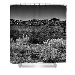 The South Platte Park Landscape II Shower Curtain by David Patterson