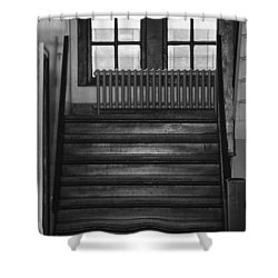 The Stairway Shower Curtain by Rob Hans