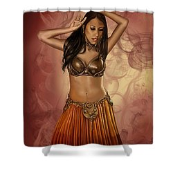 The Sultan's Muse Shower Curtain by James Christopher Hill