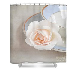 The Sweetest Rose Shower Curtain by Lyn Randle