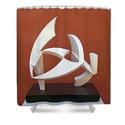 The Taming Of Pegasus  Shower Curtain by John Neumann