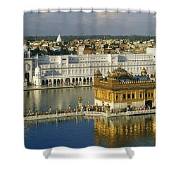 The Temple Complex Shower Curtain