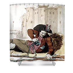 The Third Estate, 1792 Shower Curtain by Granger