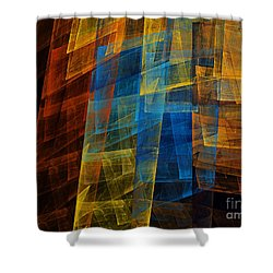 The Towers 1 Shower Curtain by Andee Design