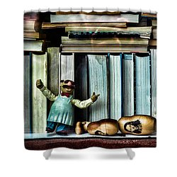 The Tragic Opera Singer Shower Curtain by Bob Orsillo